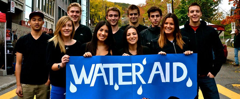 wateraid university programs