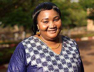 Fatoumata Haidara smiling.