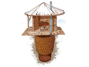 VIP latrine